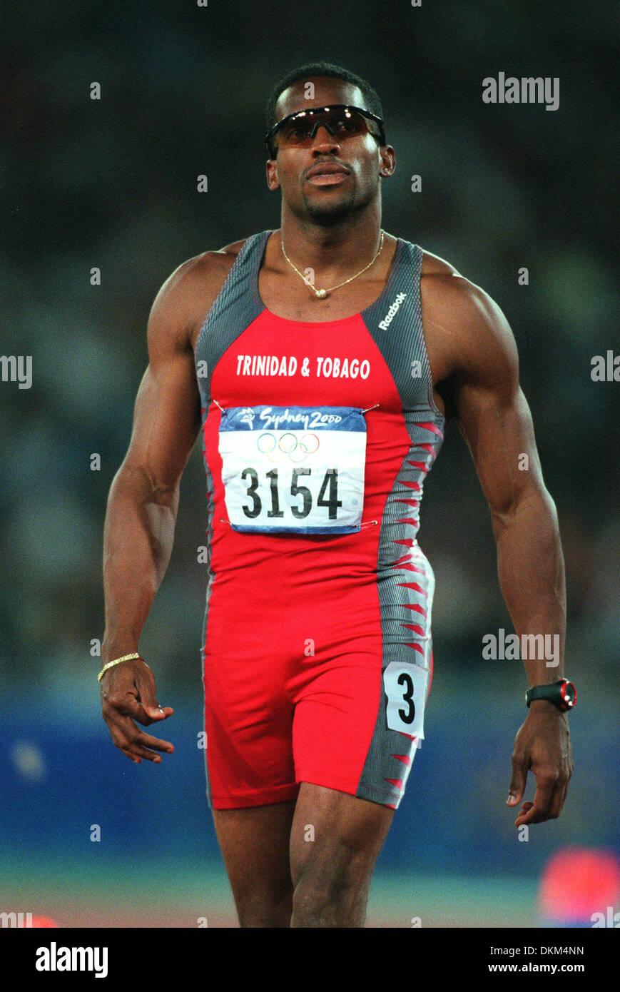 ATO BOLDON.200 METRES, SYDNEY OLYMPICS.Y, AUSTRALIA ...