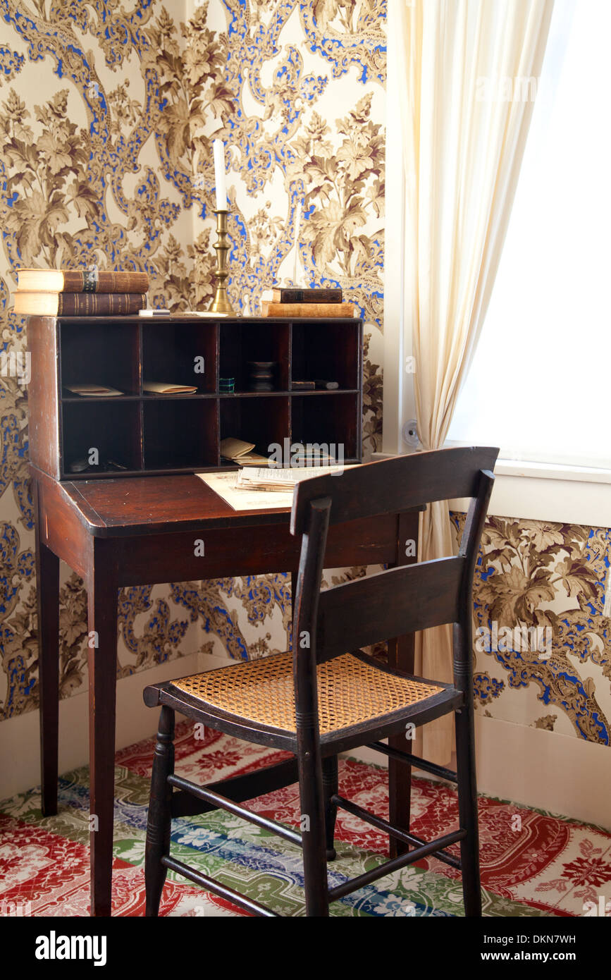 Thought To Be The Desk That Lincoln Used To Write His Most
