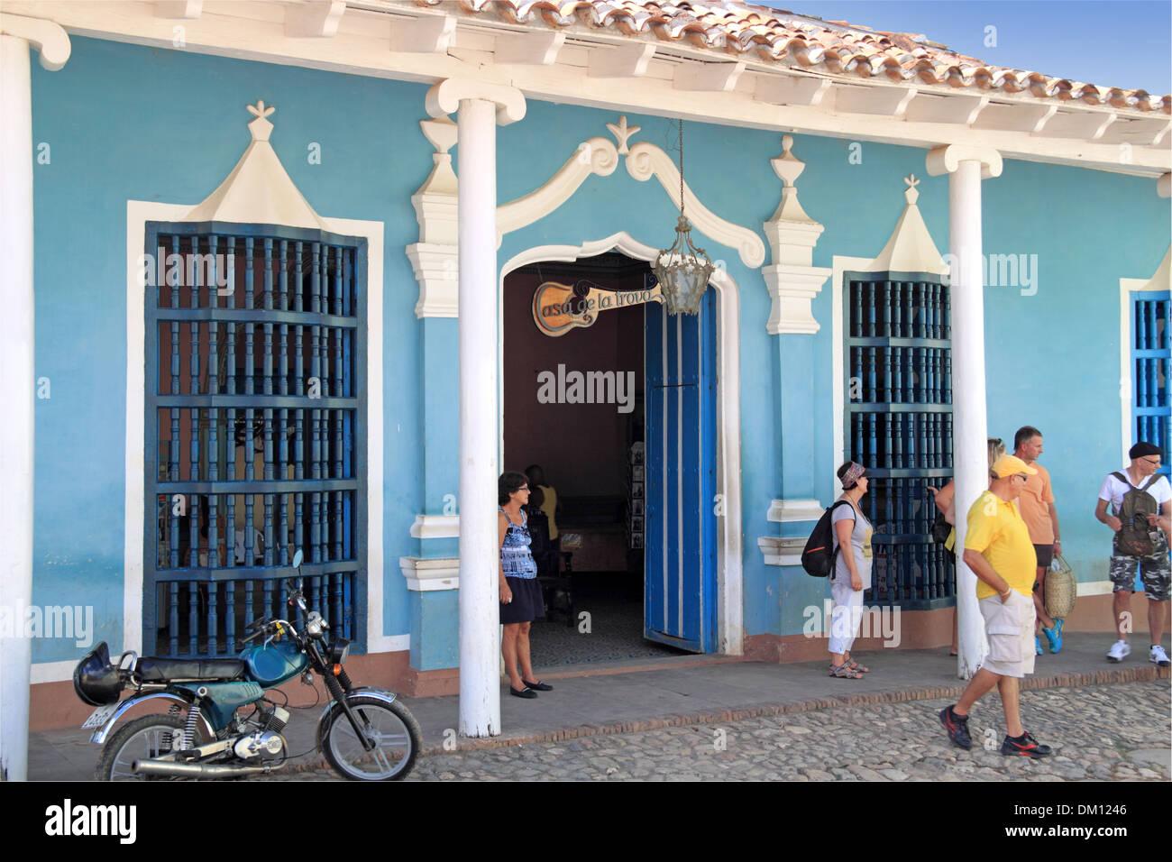 Casa de la trova plazuela de segarte trinidad sancti for Trova la casa perfetta