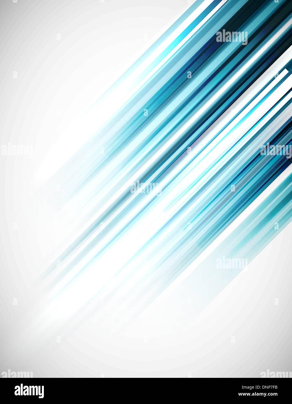 Blue abstract straight lines vector background Stock-Vektorgrafik
