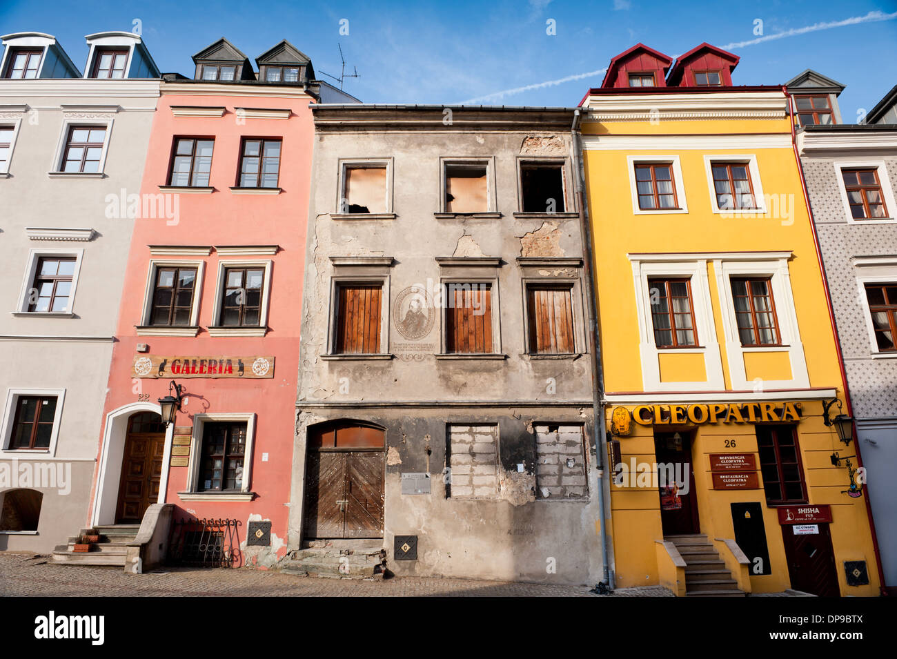 Ignacy Kraszewski Old House In Lublin Stock Photo Royalty Free Image 65360426 Alamy