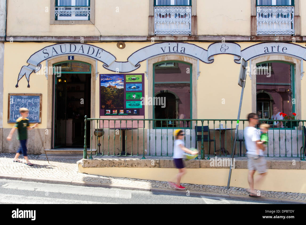 Caf 233 Saudade Vintage Coffee House In Sintra Portugal Stock Photo Royalty Free Image 65414215