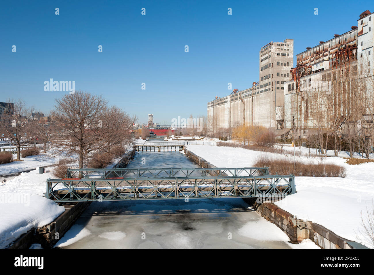 Lachine canal montreal province of quebec canada stock for Domon lachine qc