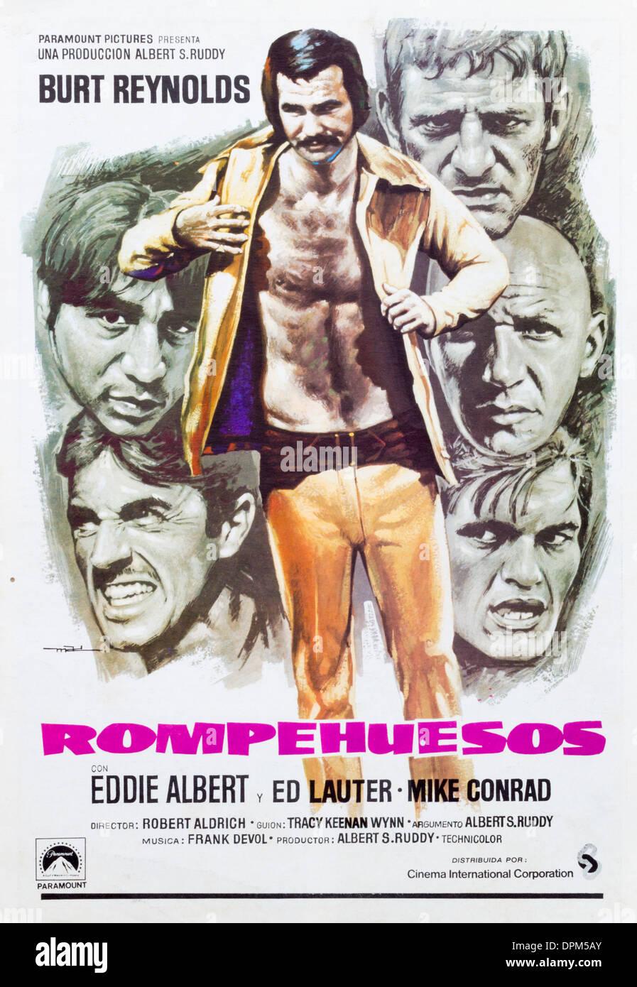 spanish film poster for burt reynolds film the longest