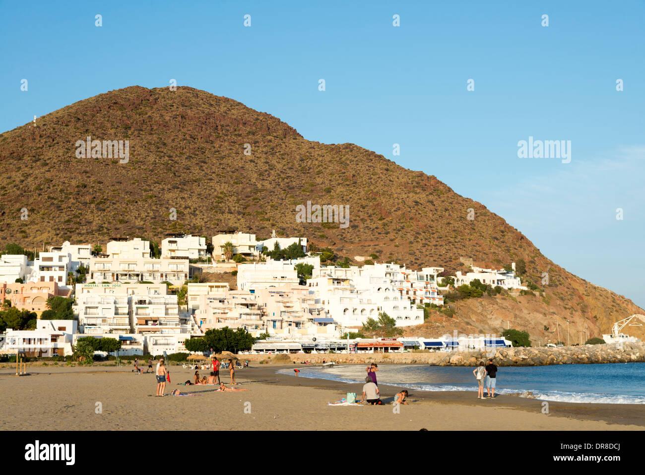 The beach at san jose cabo de gata nijar andalusia for Cabo de gata spain