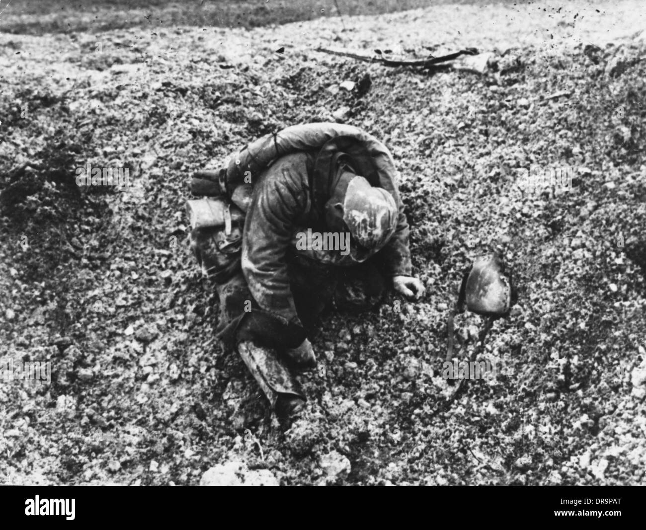 Battle of Verdun 1916 Stock Photo