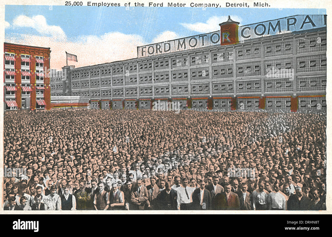 Employees ford motor company detroit michigan usa for Ford motor company stock