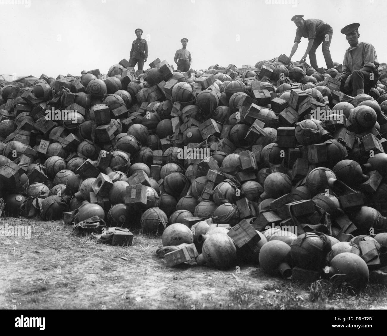 Apple Id Reset Email >> Supply dump of trench mortar ammunition, France, WW1 Stock Photo: 66160261 - Alamy