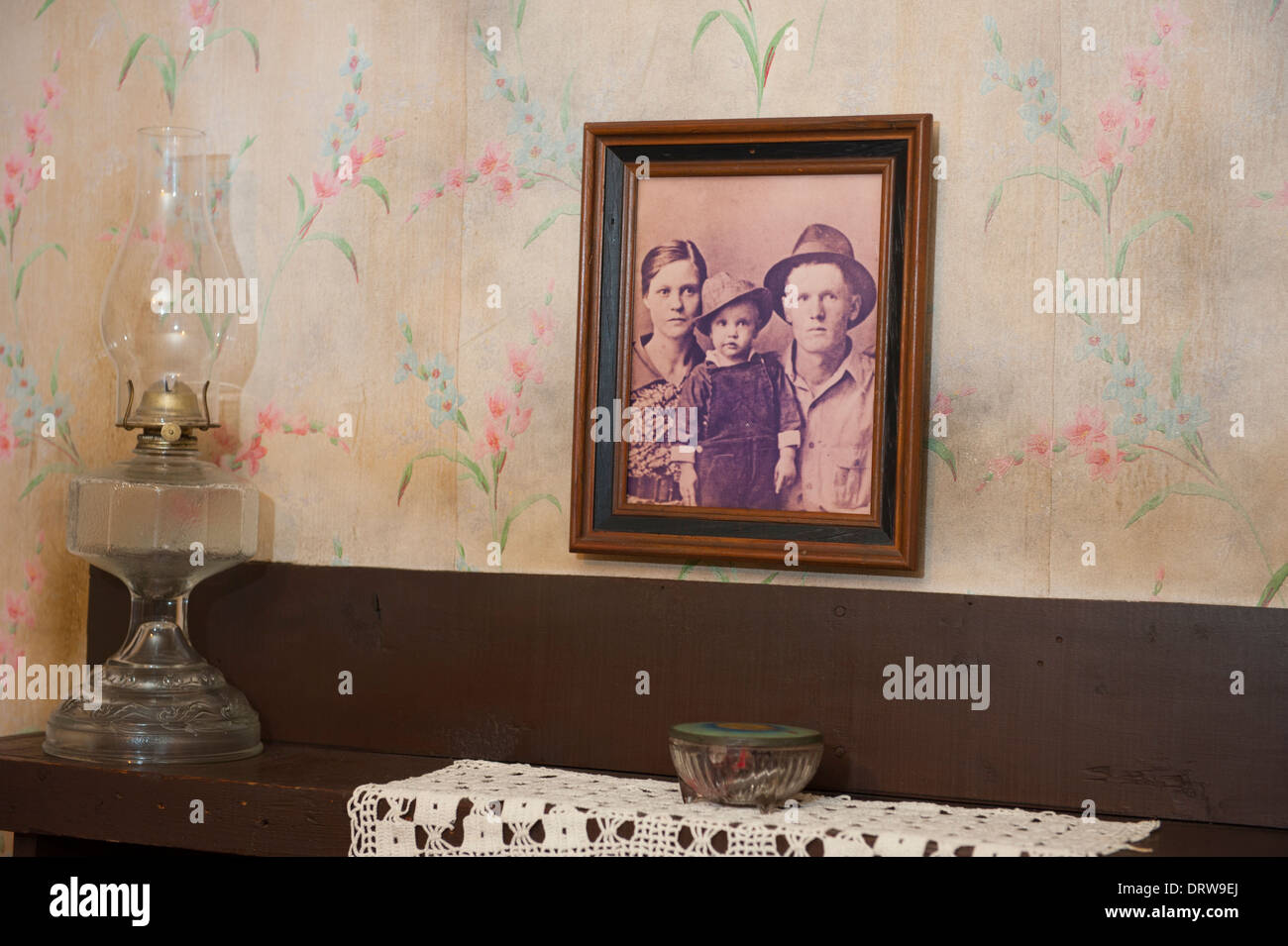 Usa Mississippi Ms Miss Tupelo Elvis Presley Birthplace Home Birth Stock Photo Royalty Free