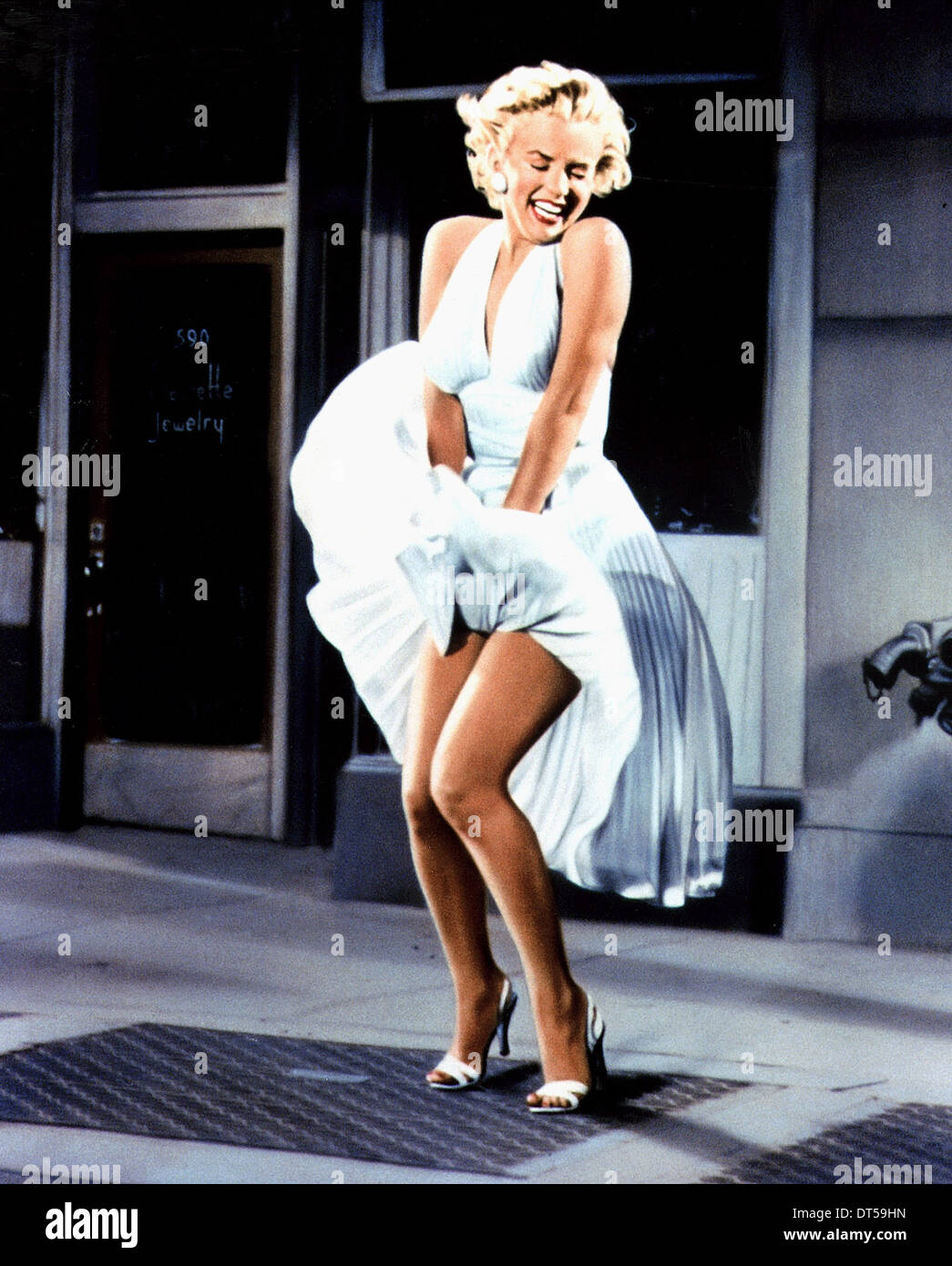 MARILYN MONROE THE SEVEN YEAR ITCH (1955) Stock Photo