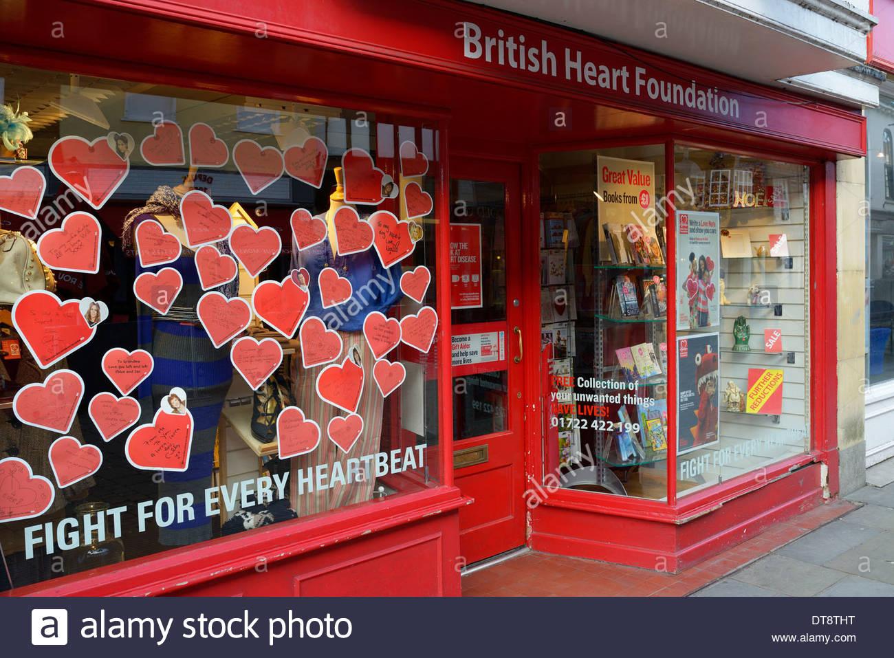 British Heart Foundation Shop High Street Salisbury