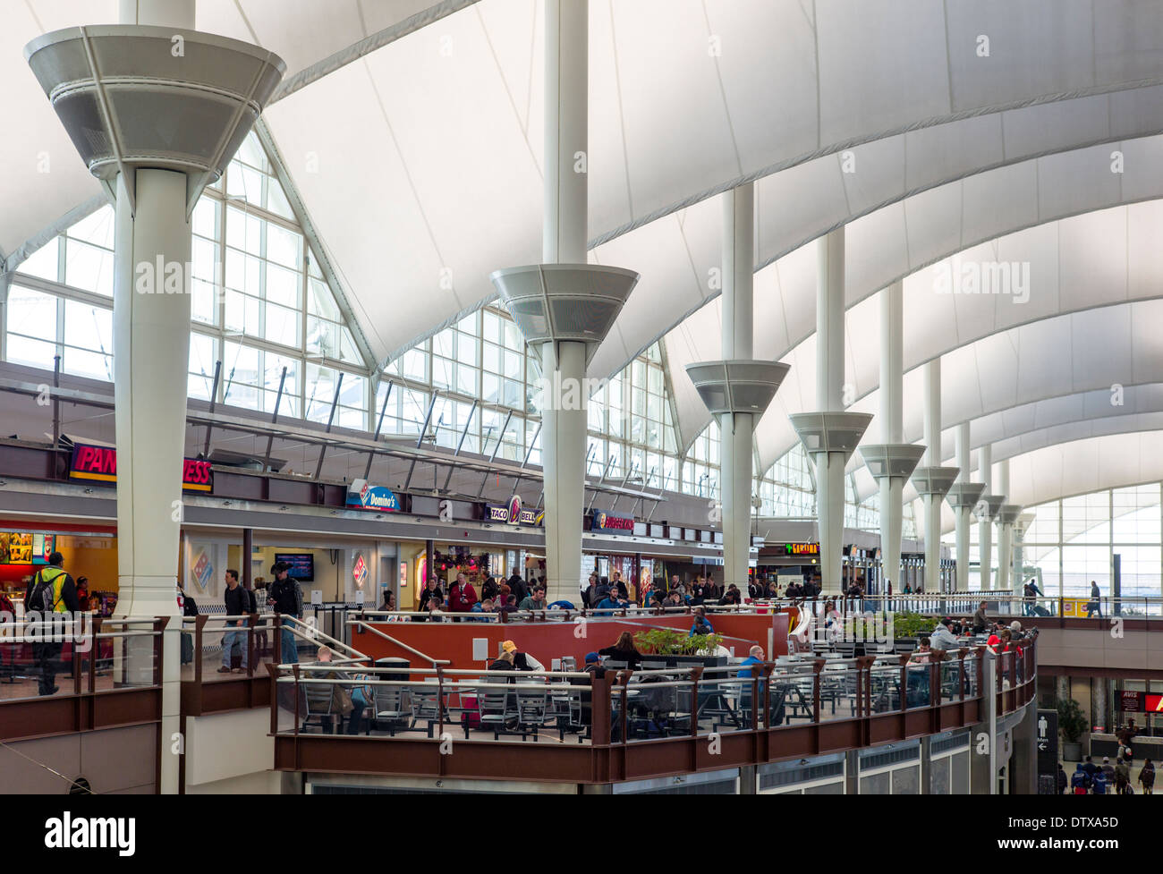 Jeppesen terminal denver international airport colorado for Inter decor usa