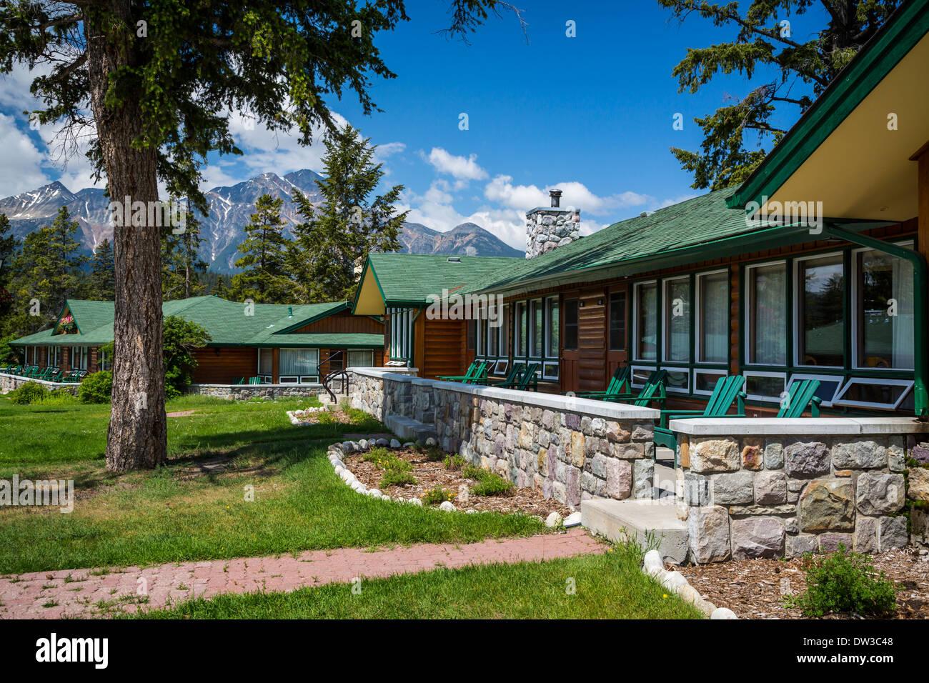 the fairmont jasper park lodge in jasper national park. Black Bedroom Furniture Sets. Home Design Ideas