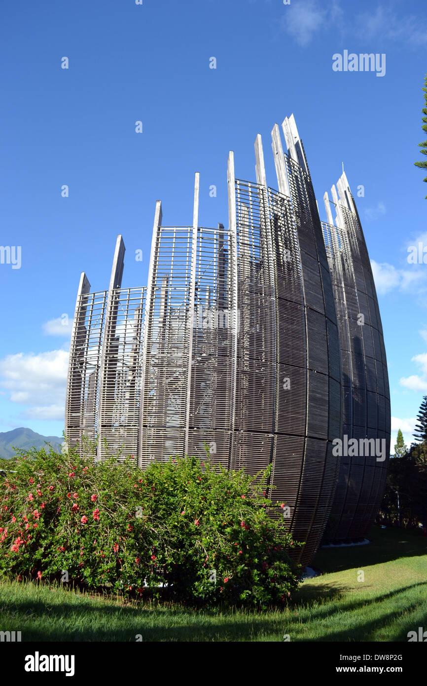 Modern Architecture Of Jean Marie Tjibaou Cultural Centre