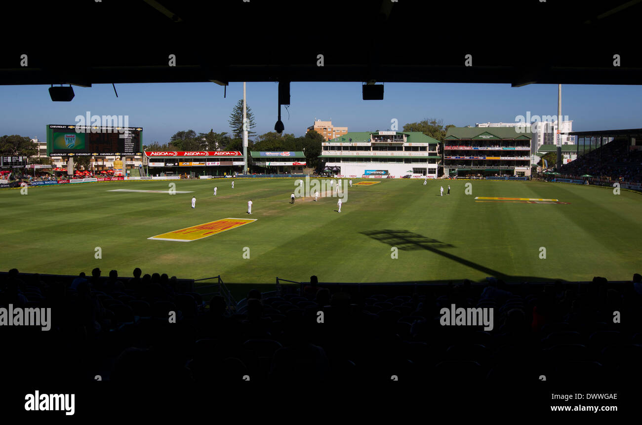 A General View Of St Georges Park Cricket Ground In Port Elizabeth Stock Photo Royalty Free