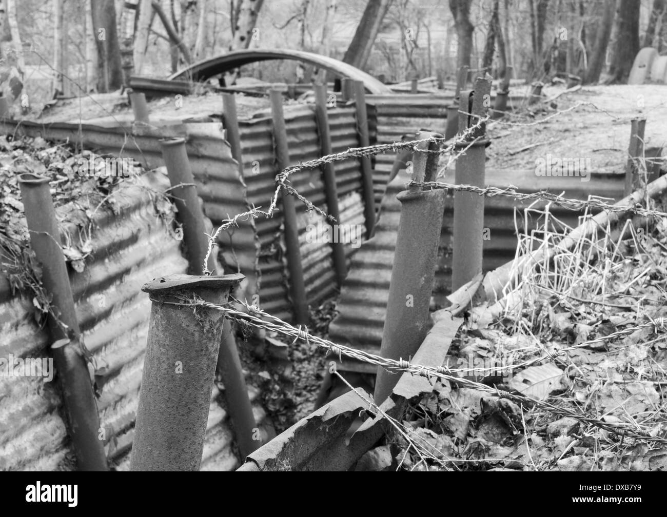 trench systems in wwi History remembers trench warfare as wasteful, futile, and uninspired, but in reality it was a deeply thought-out system that underwent constant revision here's how it worked during world.