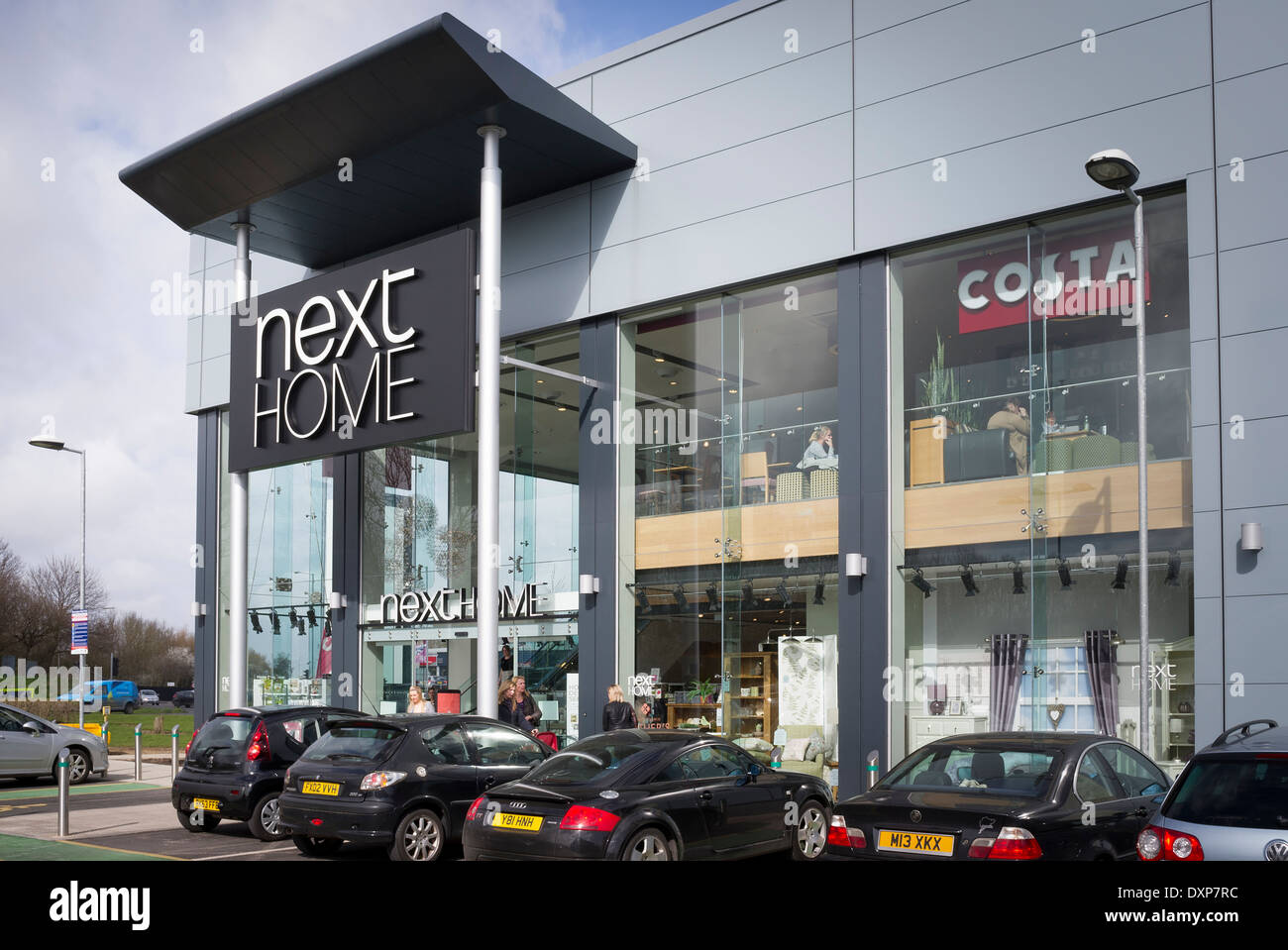 Next home departmental store in outskirts of swindon uk for British house store