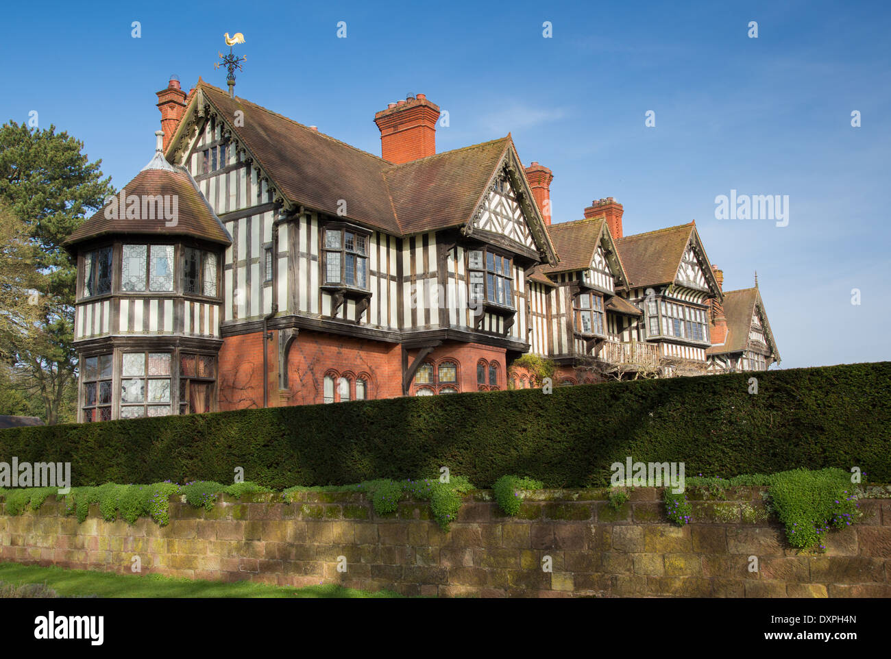 wightwick manor a victorian arts and crafts house influenced by stock photo royalty free image. Black Bedroom Furniture Sets. Home Design Ideas