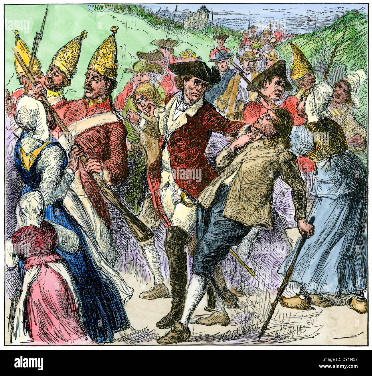 deportation of the acadia from the region of nova scotia From the 1630s to 1755, acadia was a region in what is now nova scotia, prince edward island, new brunswick and eastern maine now, acadia is anywhere acadians live, and acadians live throughout the world.