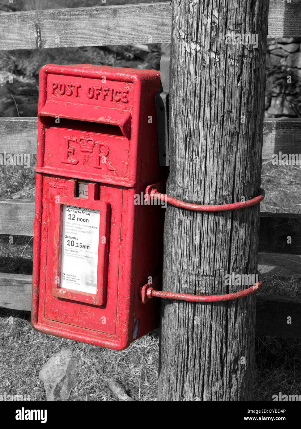 rural-bright-red-post-office-postal-box-