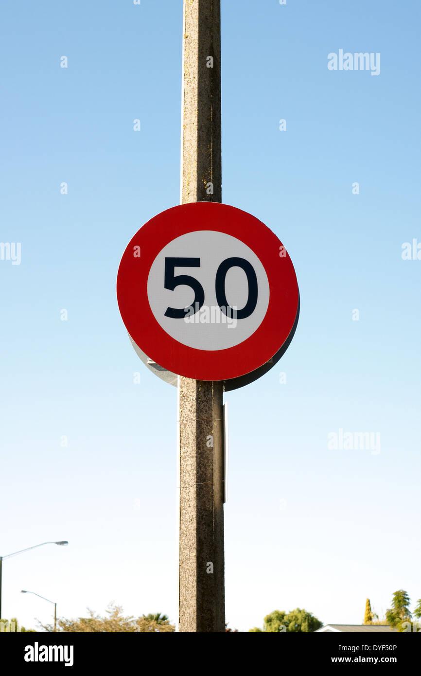 urban-50-kilometre-per-hour-sign-used-in
