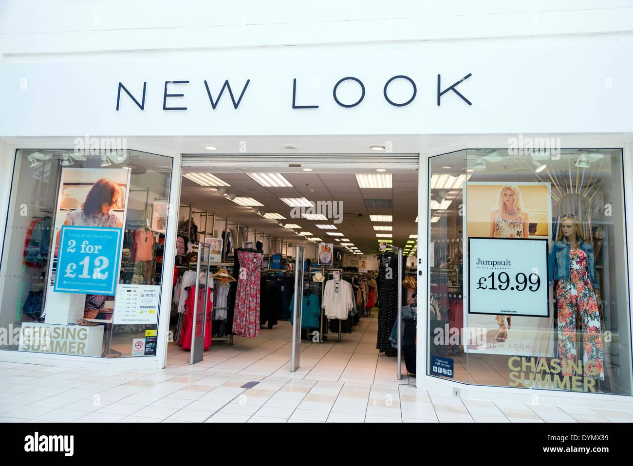New Look store in Evesham, UK. Stock Photo