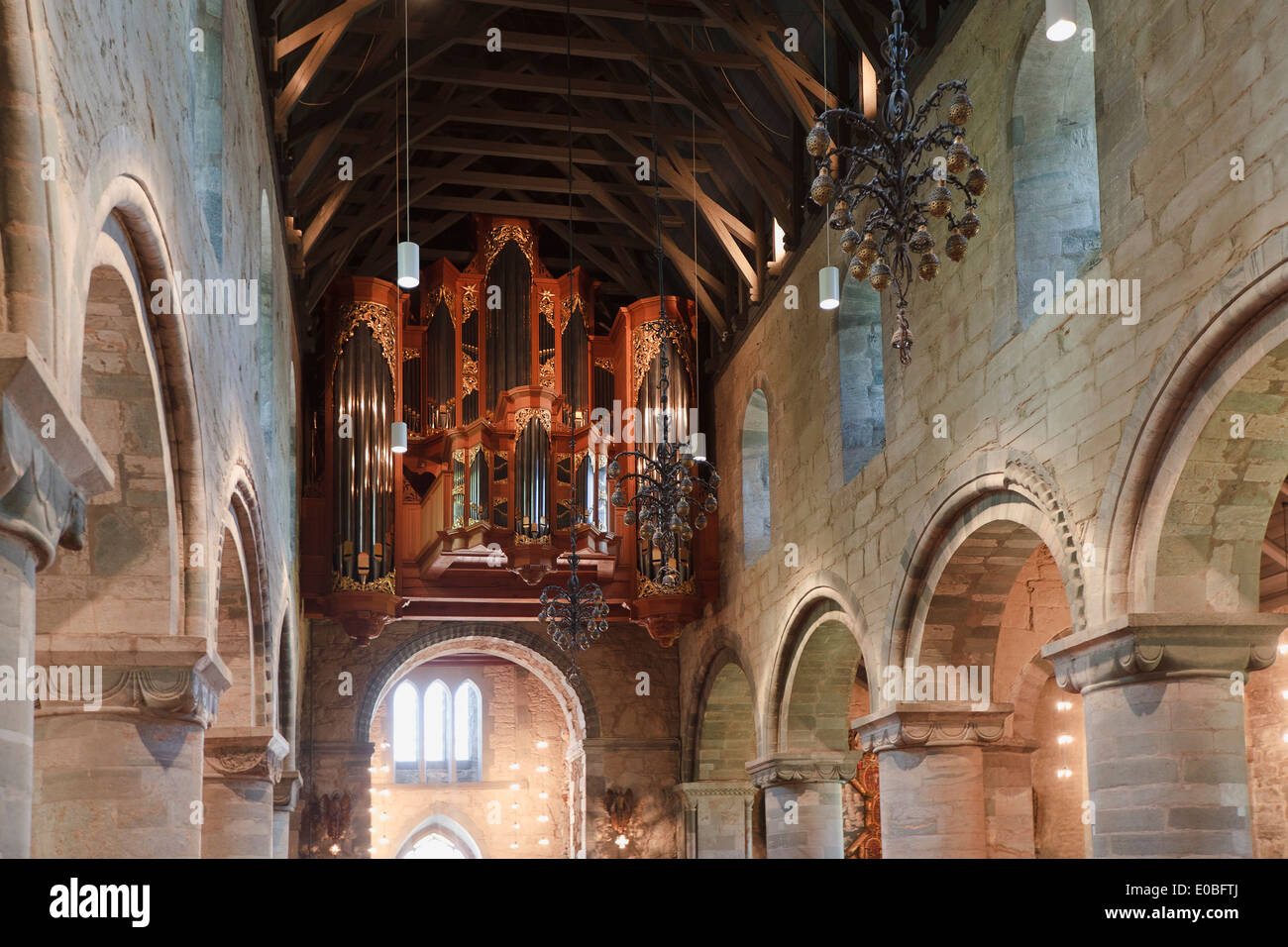Interior of Stavanger Cathedral, Norway Stock Photo, Royalty Free Image: 69095394 - Alamy