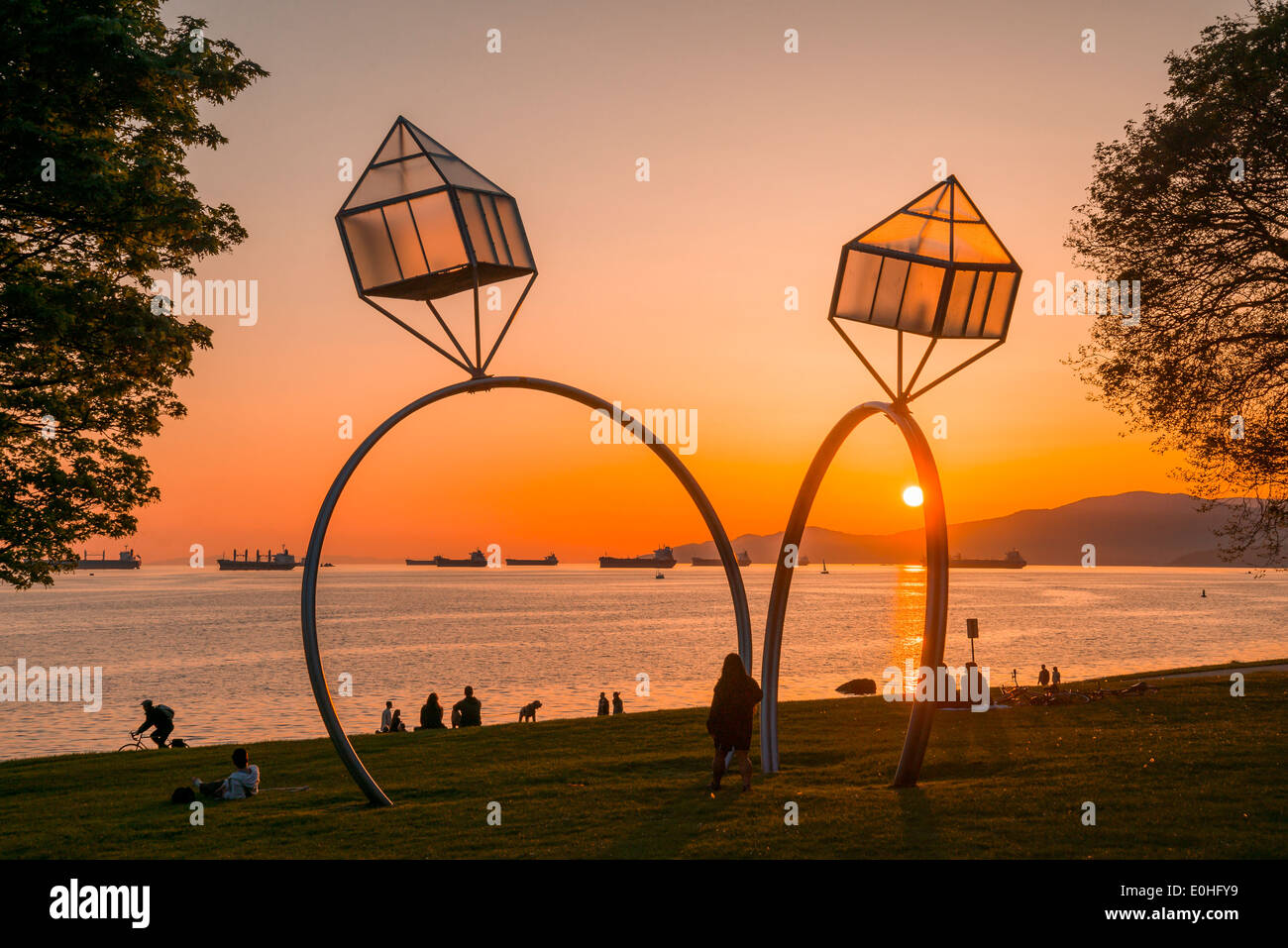 Vancouver Engagement Rings Sculpture