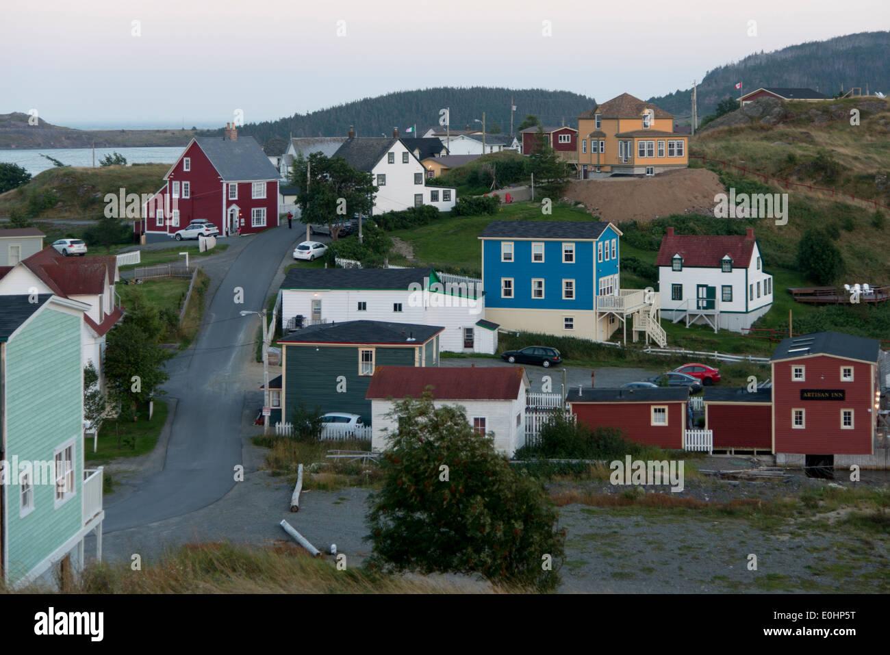 Houses in trinity bonavista peninsula newfoundland and for Newfoundland houses