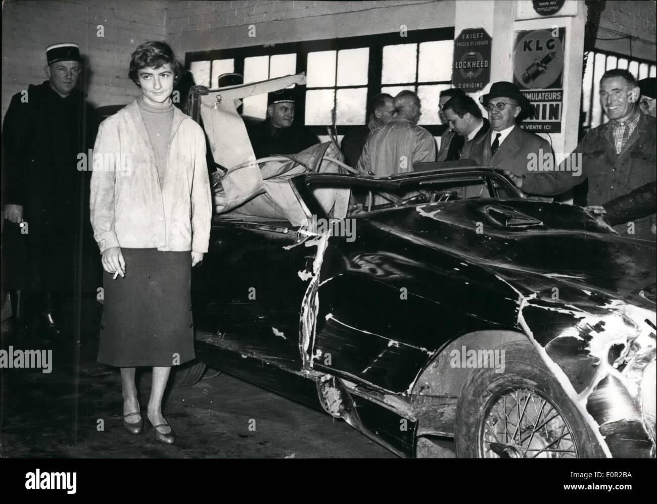 Francoise Dorleac Car Crash Image Mag