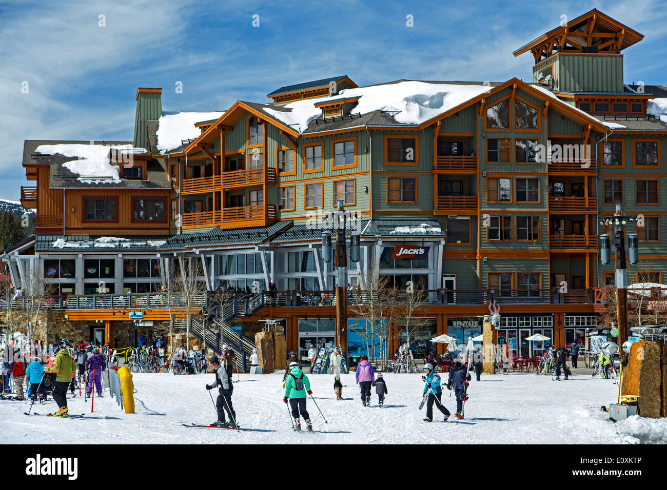 Center Village Copper Mountain Ski Resort Copper