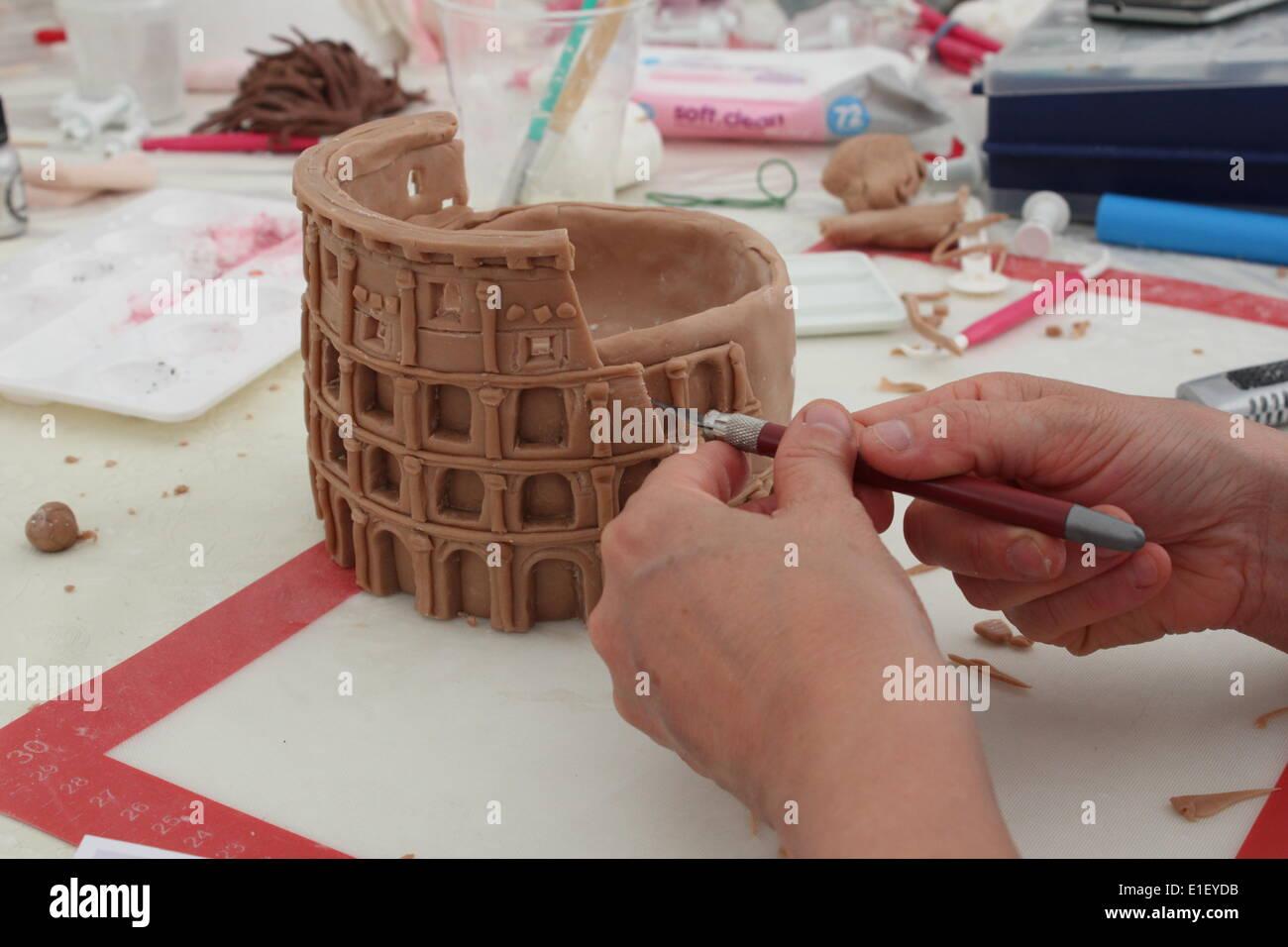 Cake Design Show Roma : Rome, Italy 1st June 2014 Cake Design Italian Festival ...