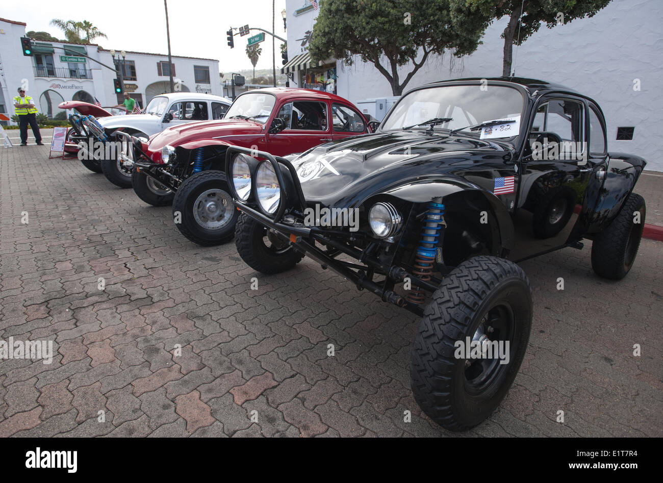 Mini Cooper Custom Rims >> San Clemente, California, Usa. 8th June, 2014. A Custom Out-fitted Stock Photo, Royalty Free ...