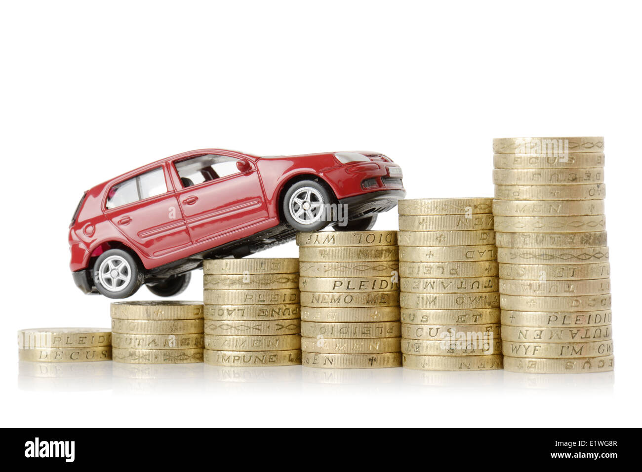 a-red-car-climbing-up-a-money-chart-isol