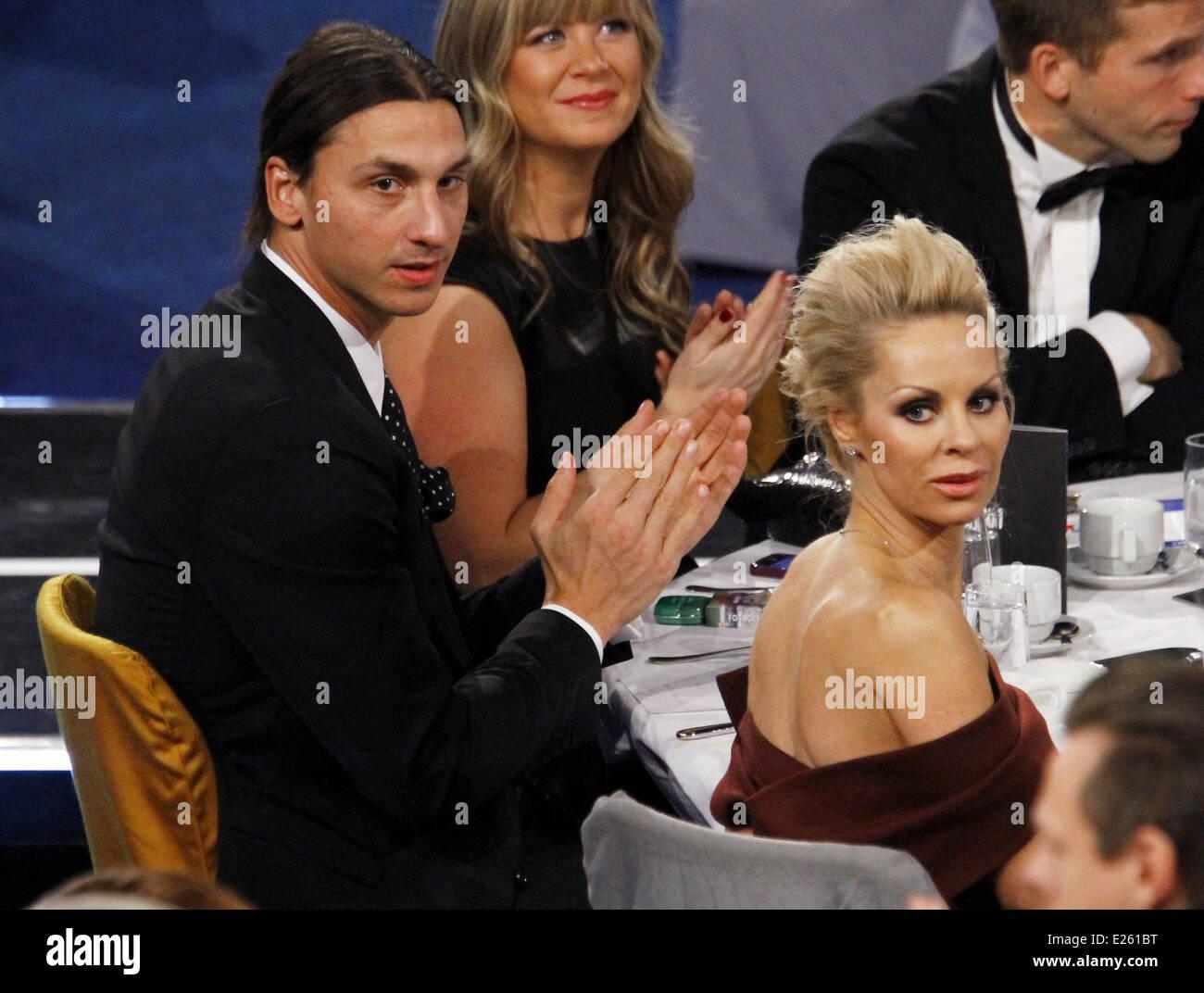 Fotbollsgalan 2013 - Awards Ceremony Featuring: Zlatan ...