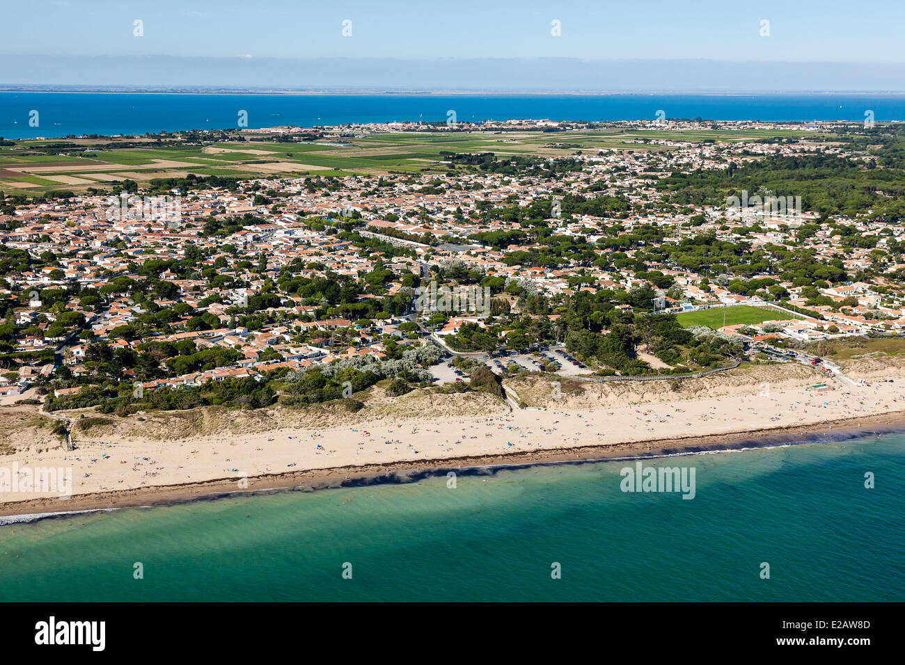 France, Charente Maritime, Ile de Re, Le Bois Plage, Gollandieres Stock Photo, Royalty Free  # Location Bois Plage En Ré