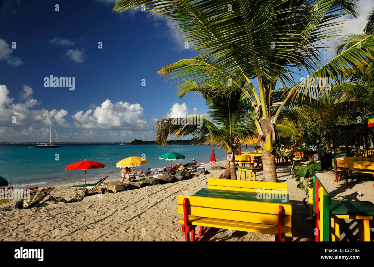 France Guadeloupe Saint Martin anse fathers or Friar's Bay ...