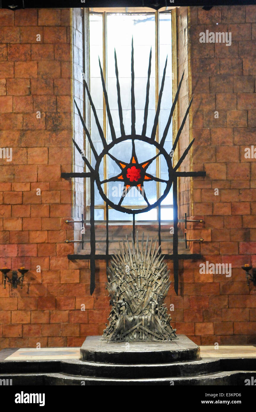 Game Of Thrones Throne Room Location