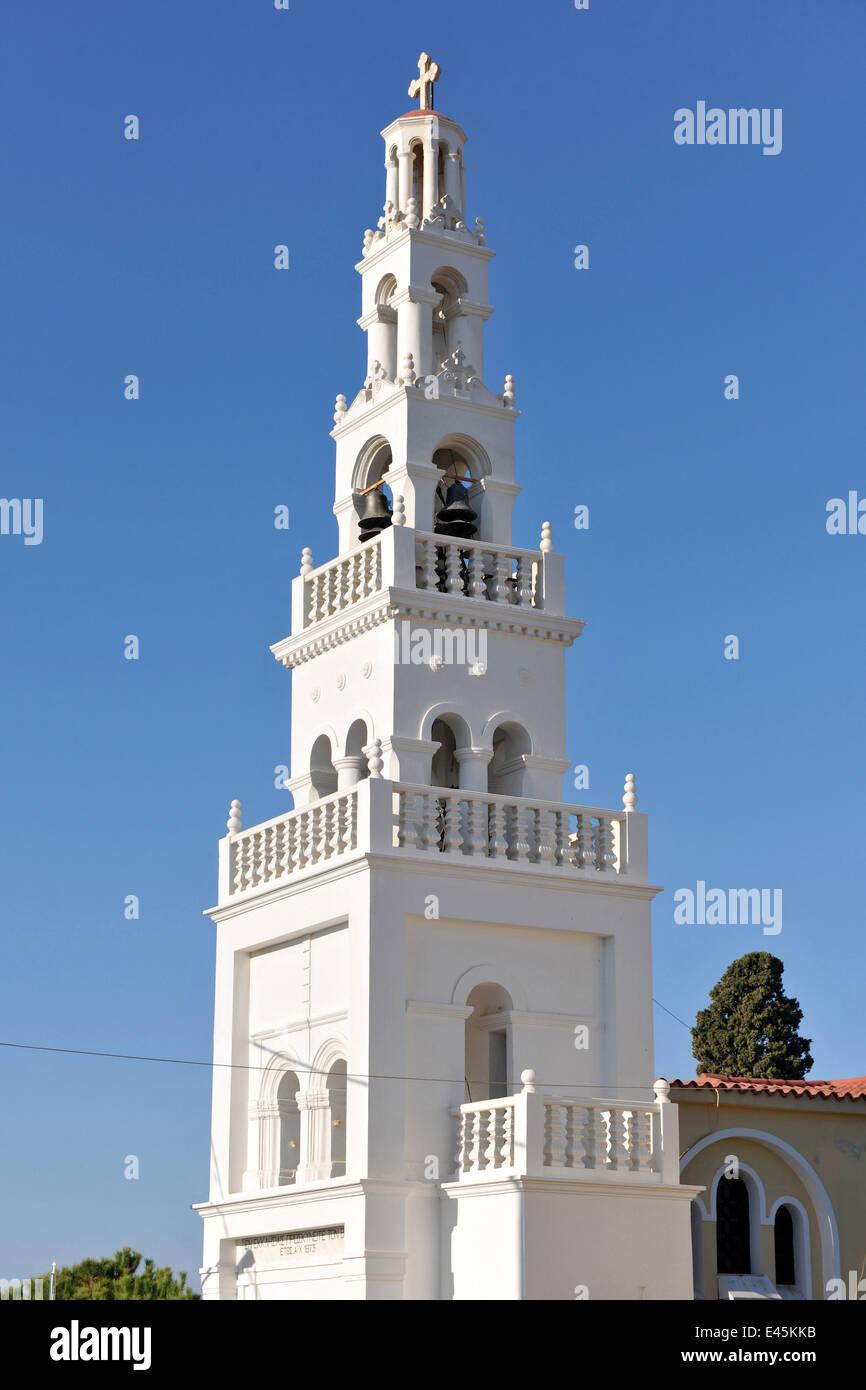 Griechenland rhodos koskinou kirchturm der dorfkirche for Koskinou griechenland