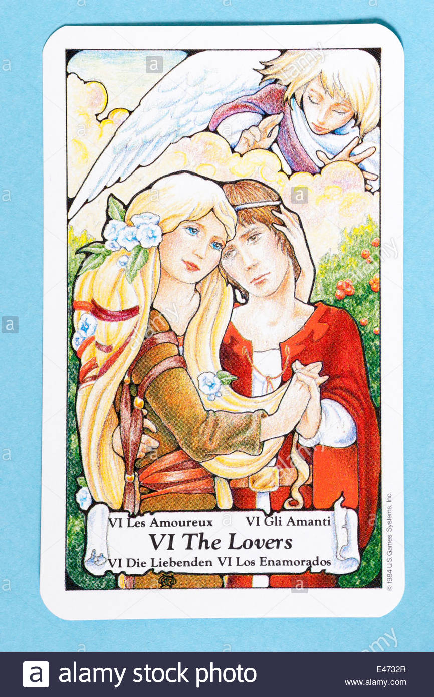 The Lovers tarot card ...