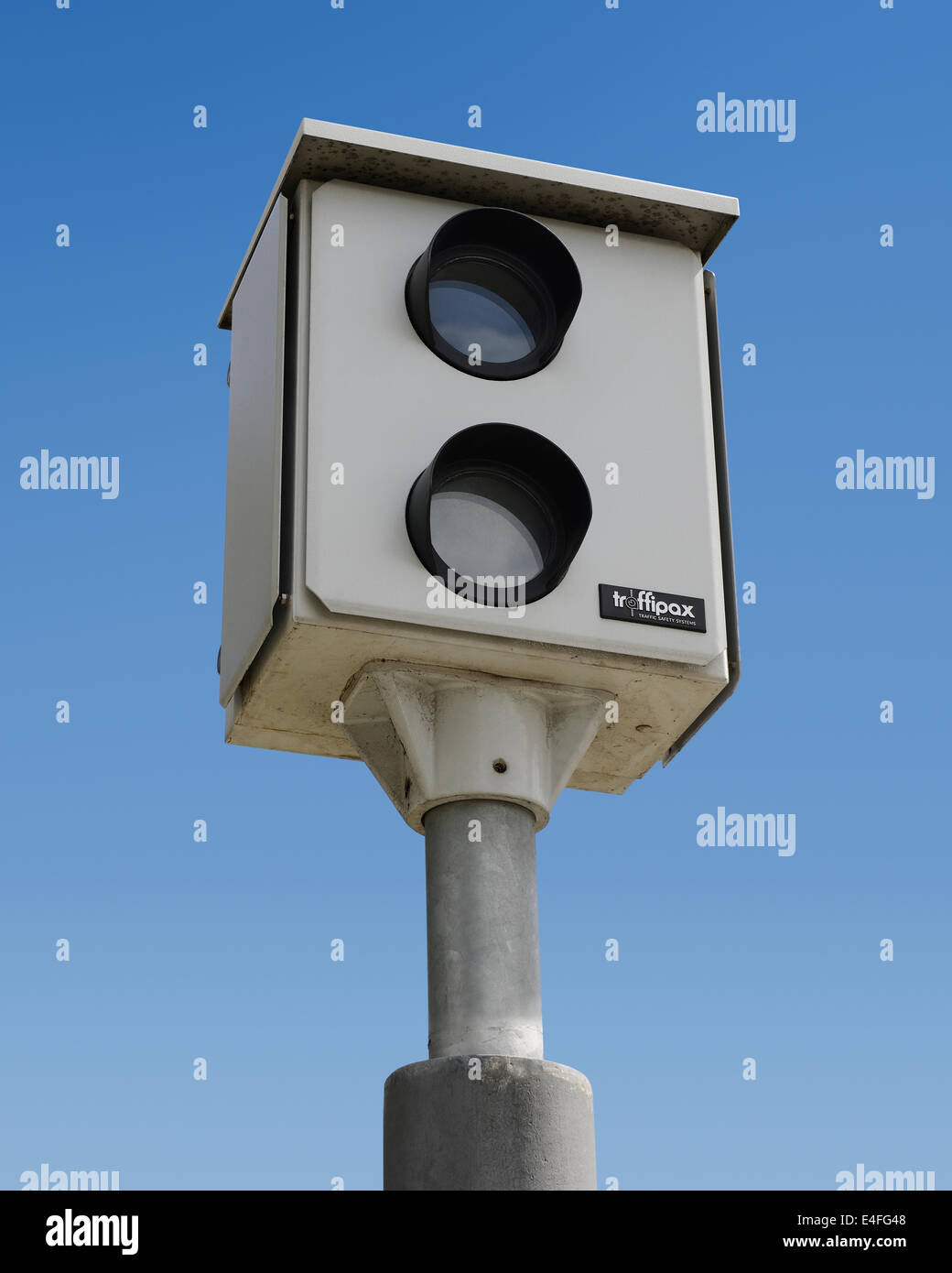 Speed Camera. Traffipax Speed Control Camera Stock Photo ...