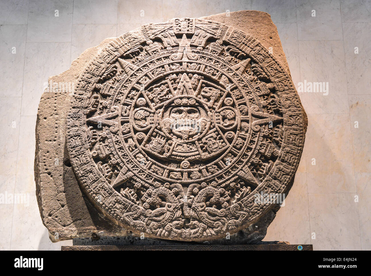 the aztec calendar mexica sun of the