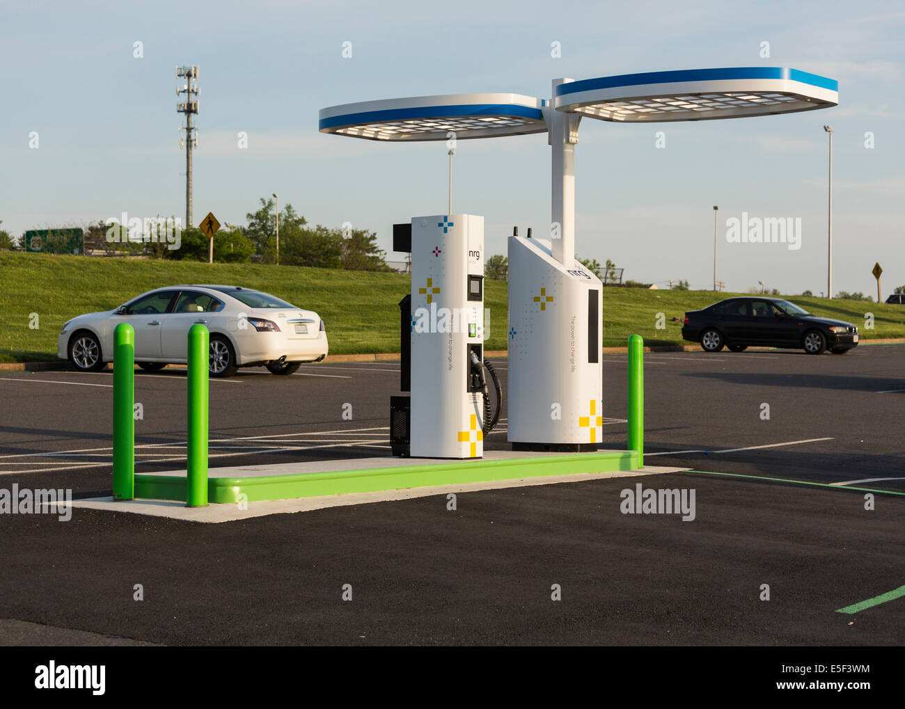 Number Of Electric Car Power Station