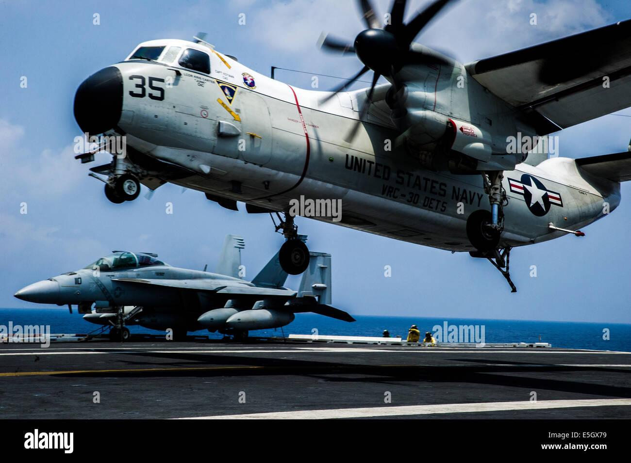 C 2a Greyhound Logistics Aircraft A U.S. Navy C-2A Greyh...