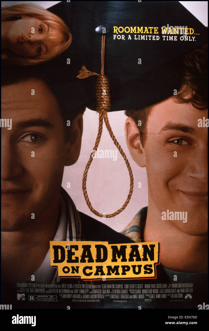 DEAD MAN ON CAMPUS, from left: Poppy Montgomery (top ...