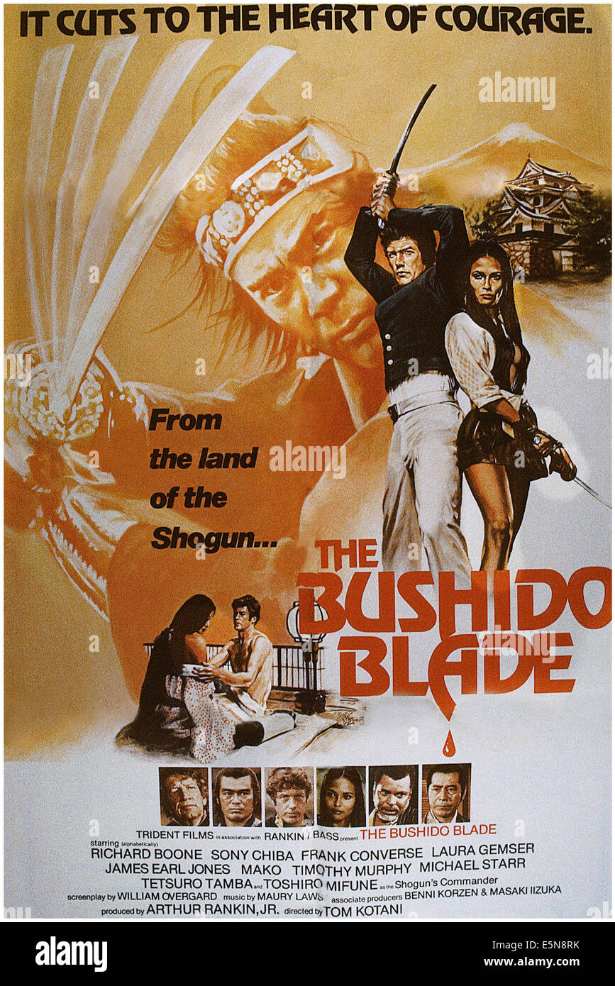the bushido blade back to back from left frank converse