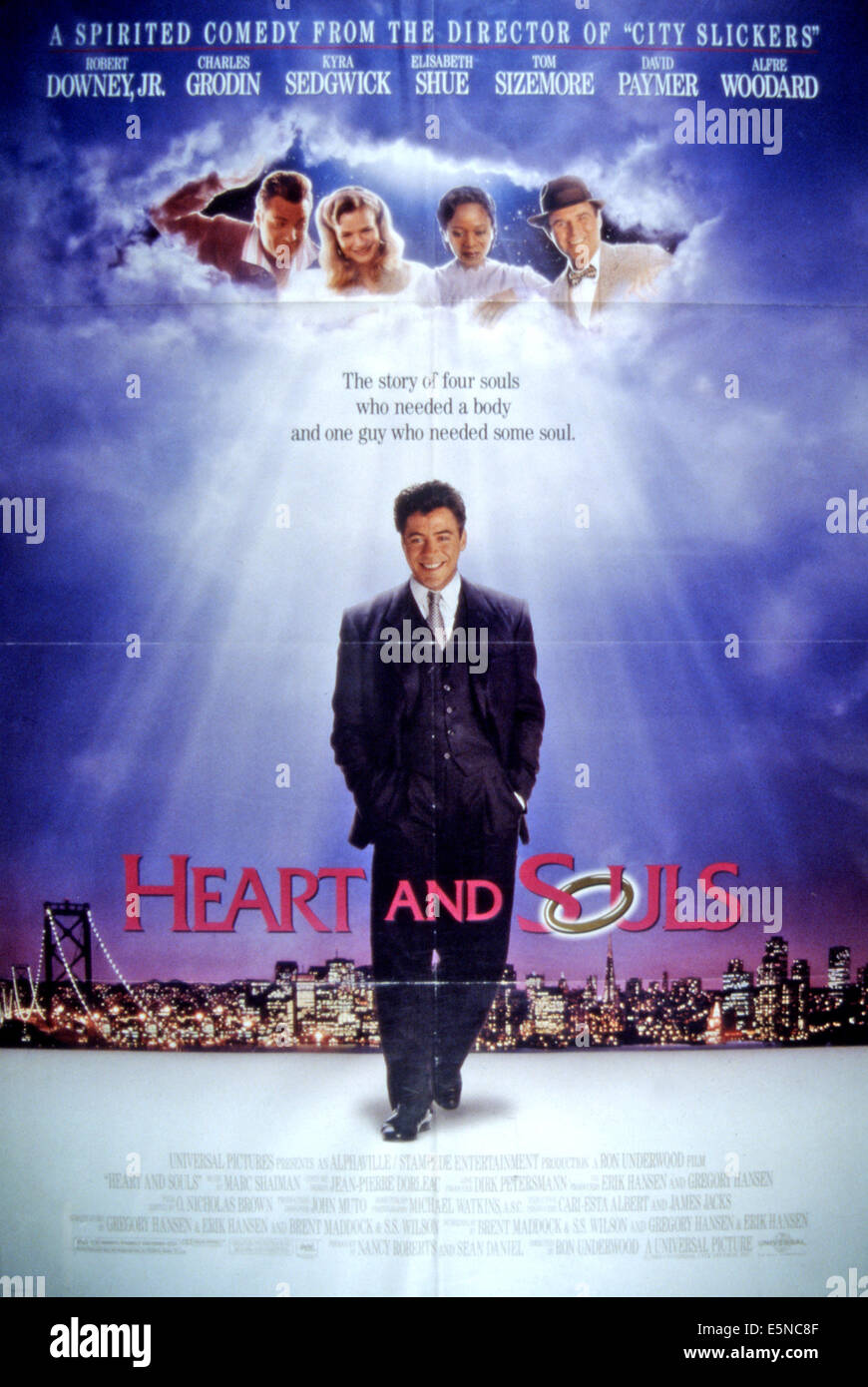 HEART AND SOULS, Tom Sizemore, Kyra Sedgwick, Alfre ...
