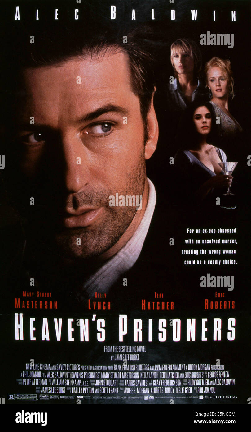 HEAVEN'S PRISONERS, Alec Baldwin, rear from left: Kelly Lynch, Teri Hatcher, Mary Stuart Masterson, 1996, © Savoy Stock Photo
