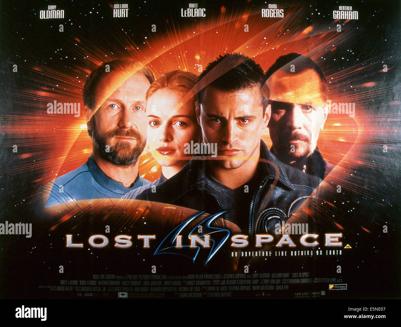 lost in space from left william hurt heather graham