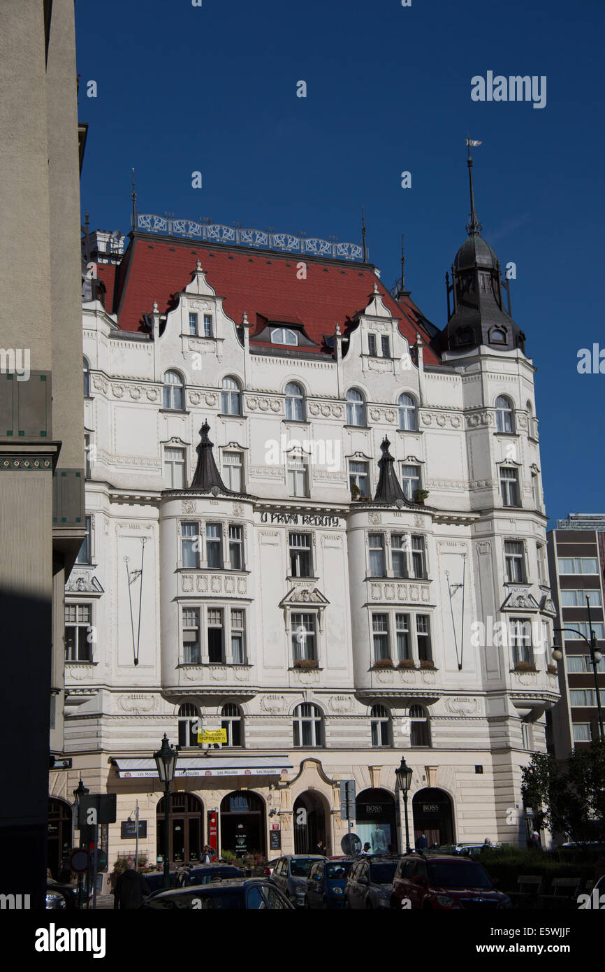 U pruni reduty hotel in the old town of prague czech for Hotels in prague old town